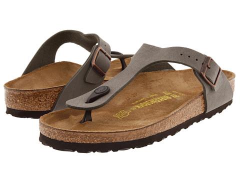 birkenstock gizeh sandal mocha on sale