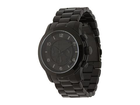 Michael Kors MK8157 - Runway Chronograph - Shiny Black/Black