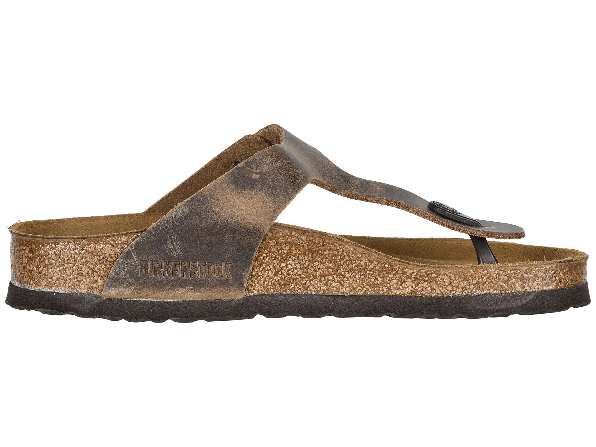 1b400af9aa89 Birkenstock Gizeh Oiled Leather Tobacco Oiled Leather on PopScreen