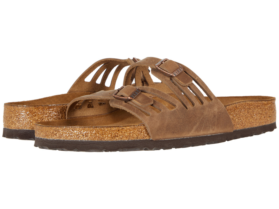 Birkenstock Granada Soft Footbed (Tobacco Oiled Leather) Women