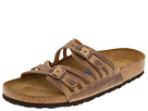 Birkenstock - Granada Soft Footbed (Tobacco Oiled Leather)
