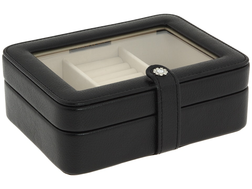 Mele Clearly Mini Jewelry Case Jewelry Box Black Jewelry Boxes Small Furniture