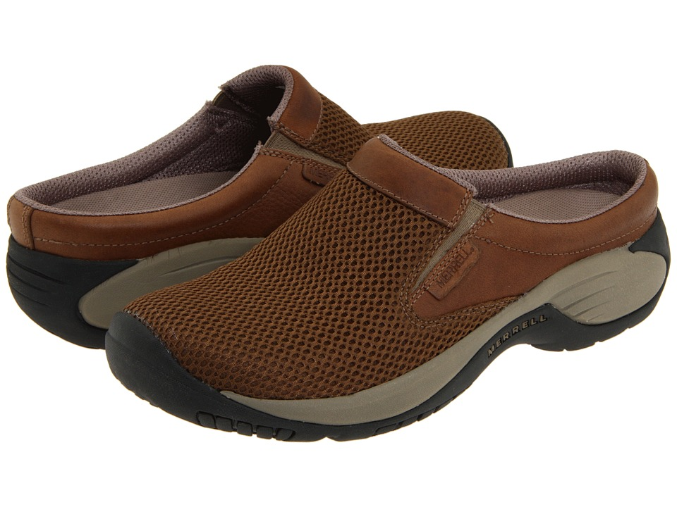 Merrell - Encore Bypass (Dark Earth) Mens Clog Shoes
