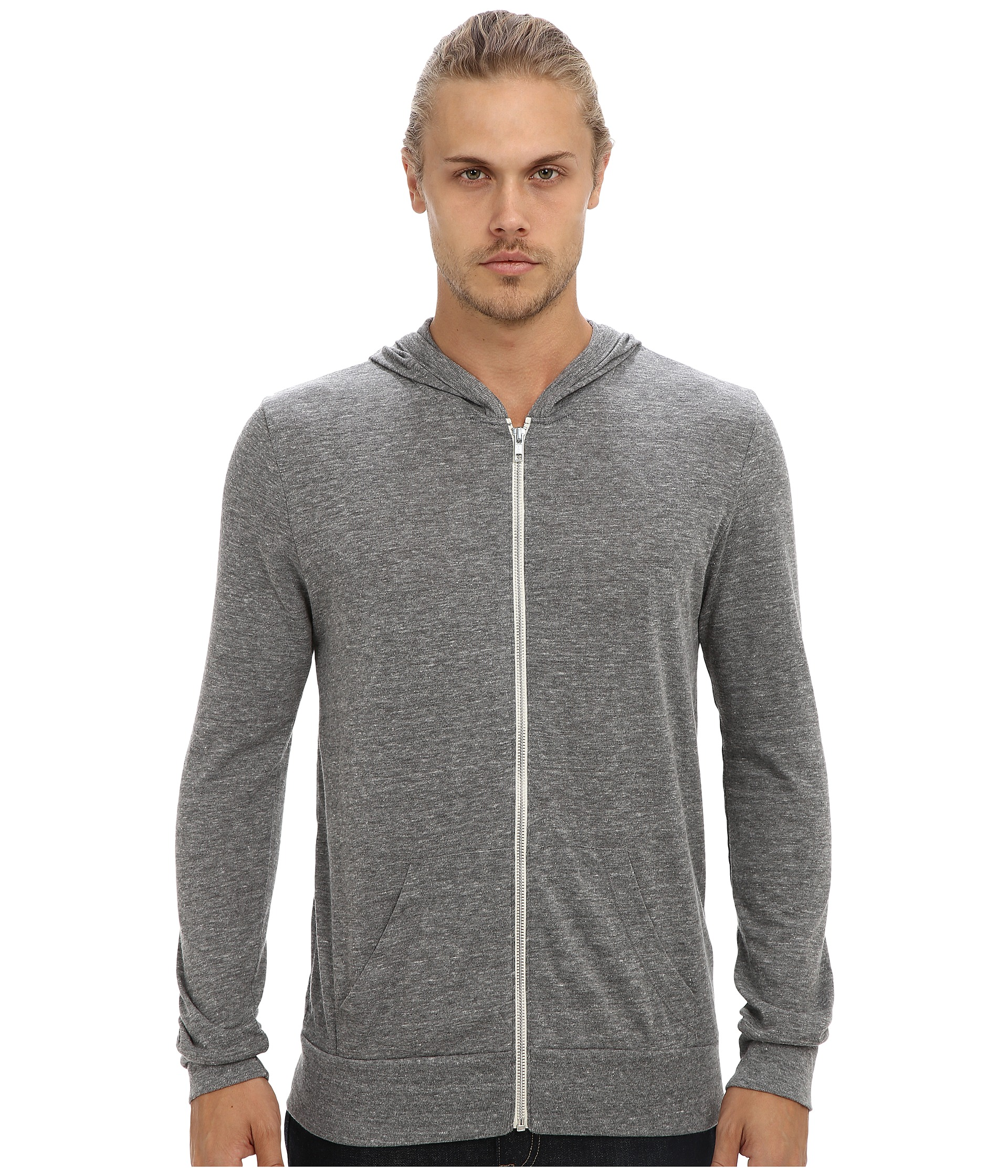 Alternative L/S Zip Hoodie - Zappos.com Free Shipping BOTH Ways
