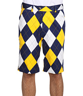 Loudmouth Golf - Blue & Gold Mega Short