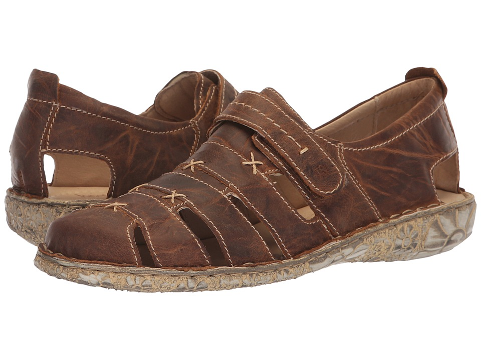 Josef Seibel Ida (Capril Bark Leather) Slip-On Shoes