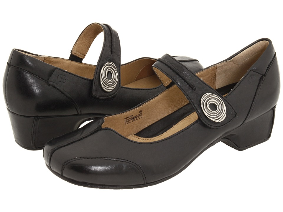 Josef Seibel Cara (Savonna Black Leather) Maryjane Shoes