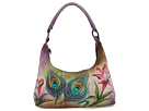 Anuschka Handbags - 371 (Peacock Flower)