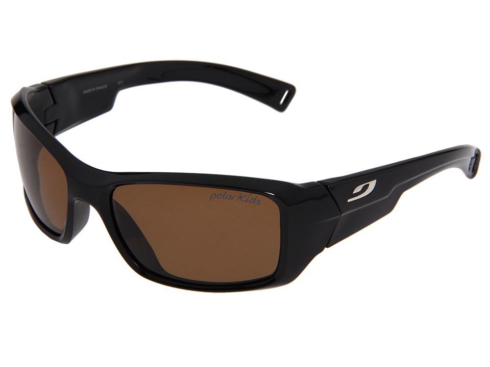 Julbo Eyewear Rookie Polarized (8-12 Years Old) (Black With Polarized Lens) Sport Sunglasses