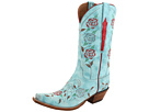 Lucchese - L4685 (Destroyed Robins Egg Blue Goat) -