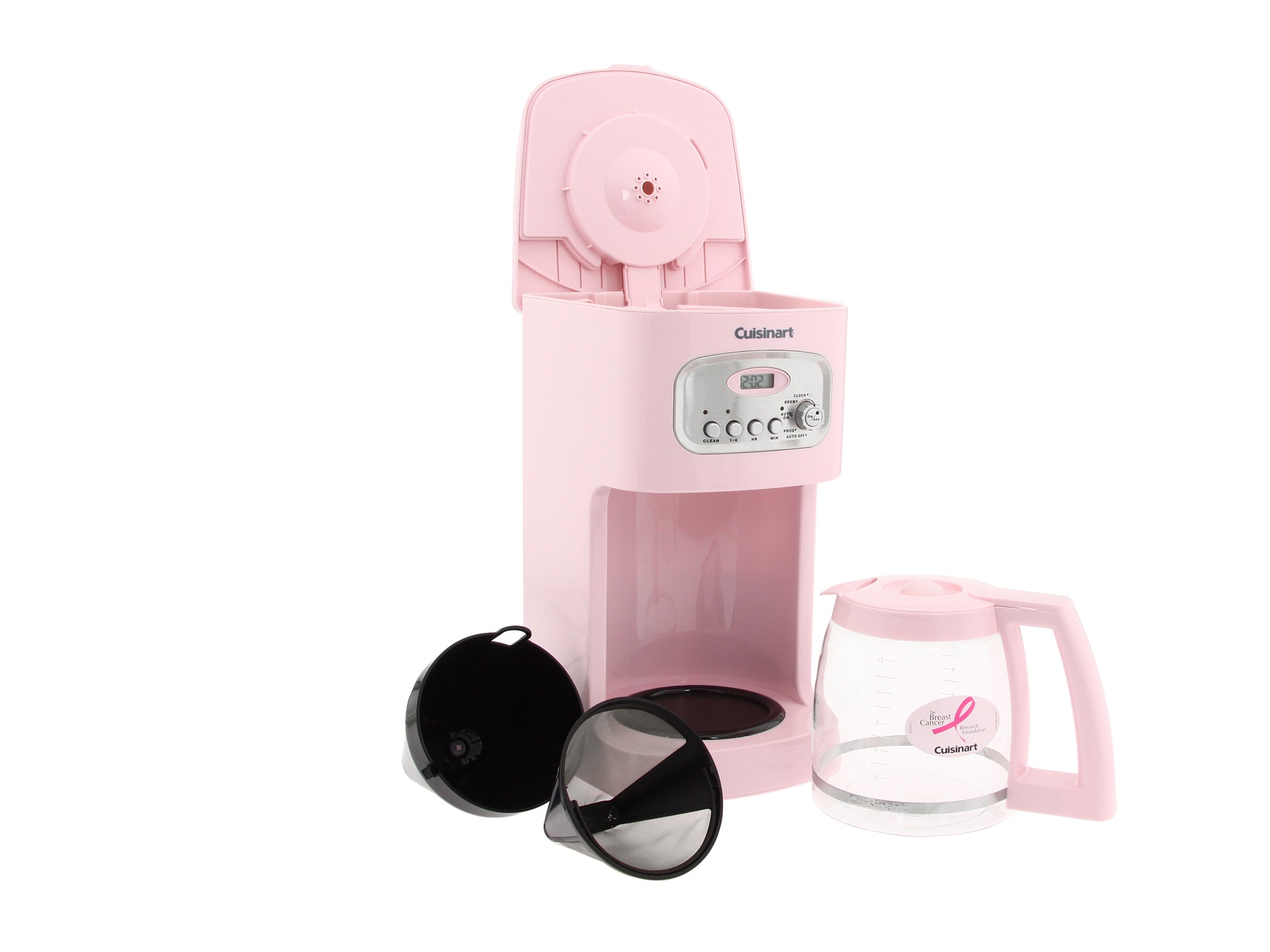 Cuisinart Dcc 1100pk 12 Cup Programmable Coffee Maker Pink ...