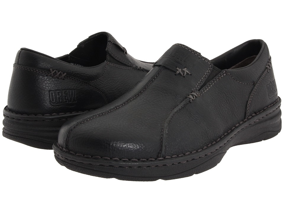 Drew - Max (Black Tumbled Leather) Men