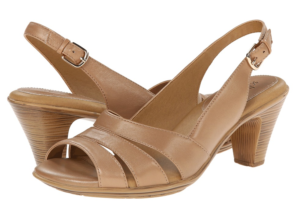 Comfortiva Neima - Soft Spots (Almond Dynasty Calf) Women's Dress Sandals