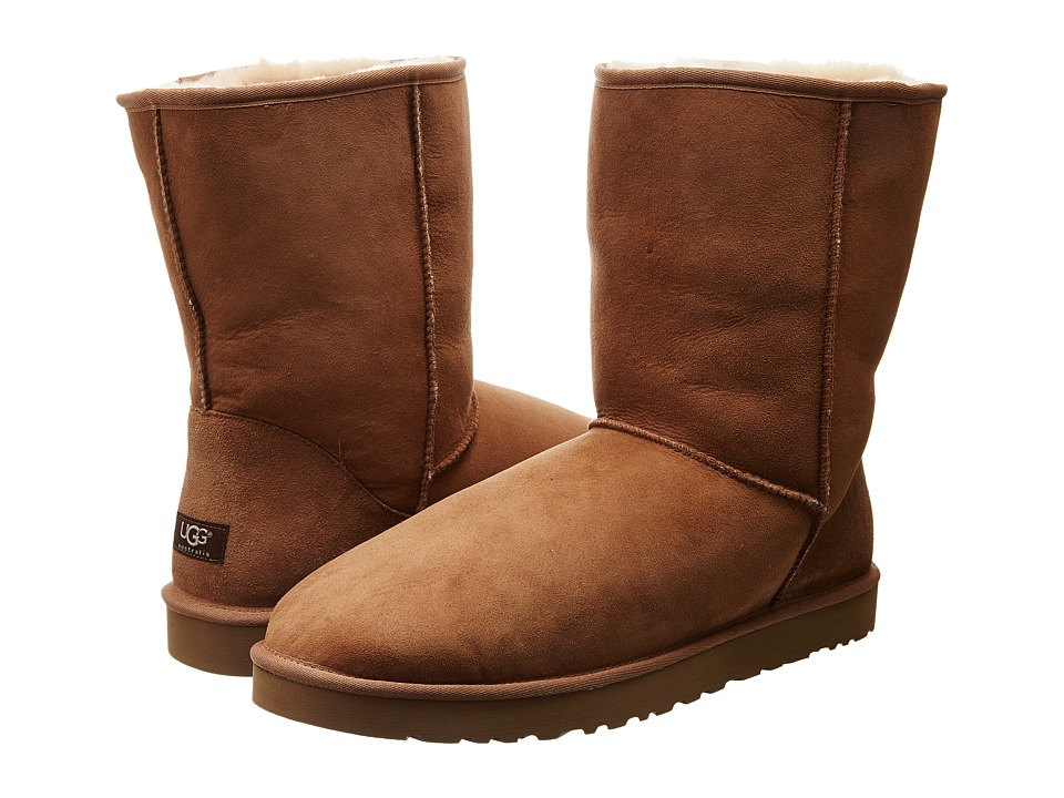 UGG - Classic Short (Chestnut) Mens Pull-on Boots