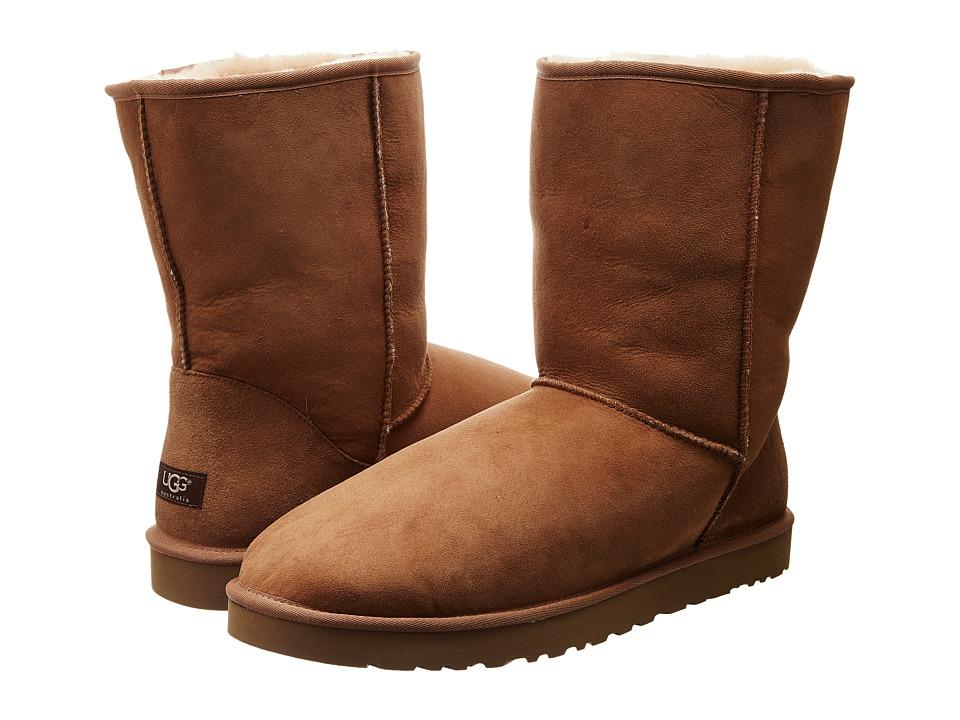 Ugg Classic Short (Chestnut) Men's Pull-on Boots