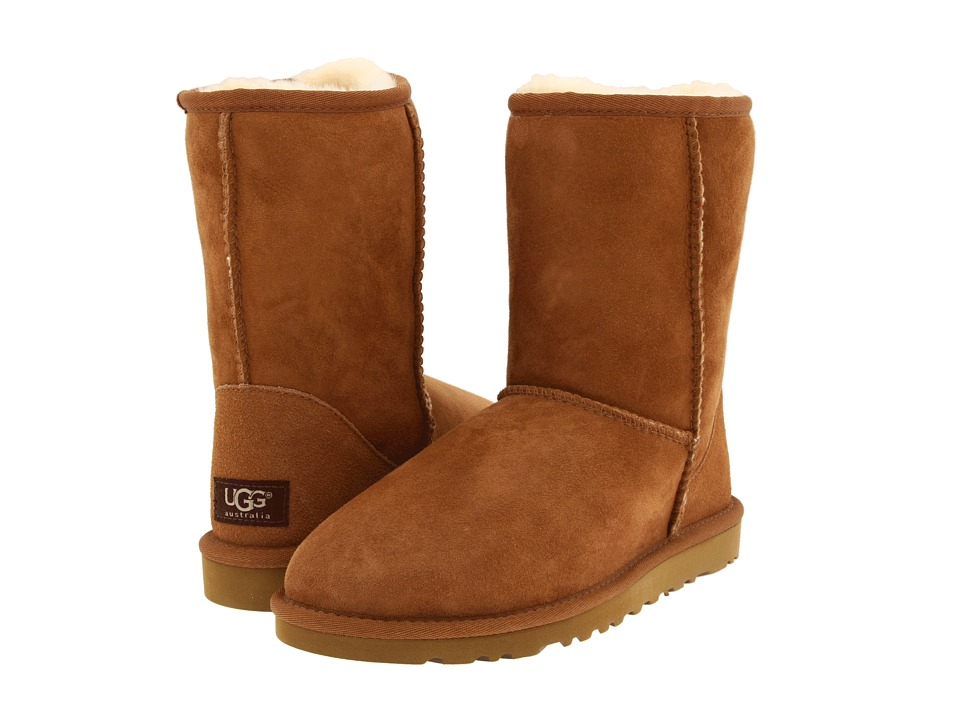 UGG Classic Short (Chestnut) Women's Pull-on Boots