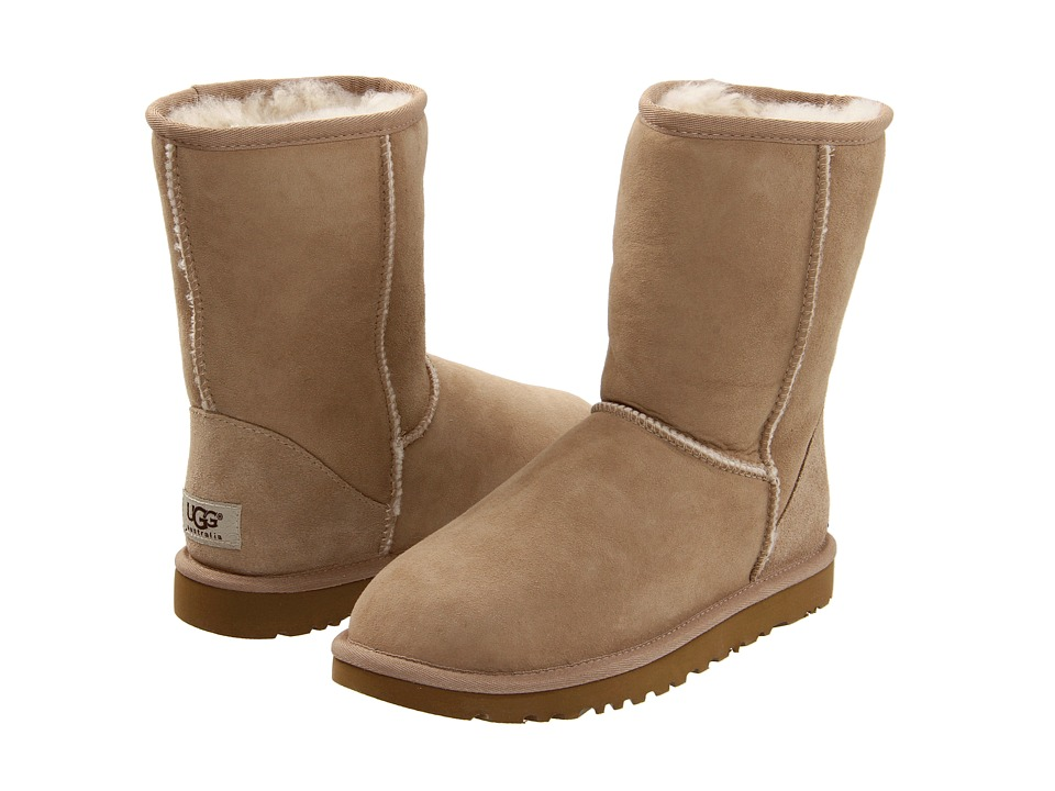 UGG Classic Short (Sand) Women's Pull-on Boots