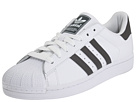 adidas Originals - Superstar 2 (White/Iron/White) - Footwear