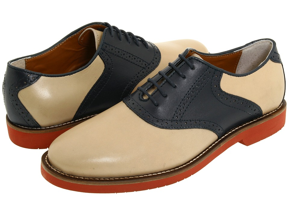 Bass - Burlington HempNavy Mens Lace up casual Shoes $99.00 AT vintagedancer.com