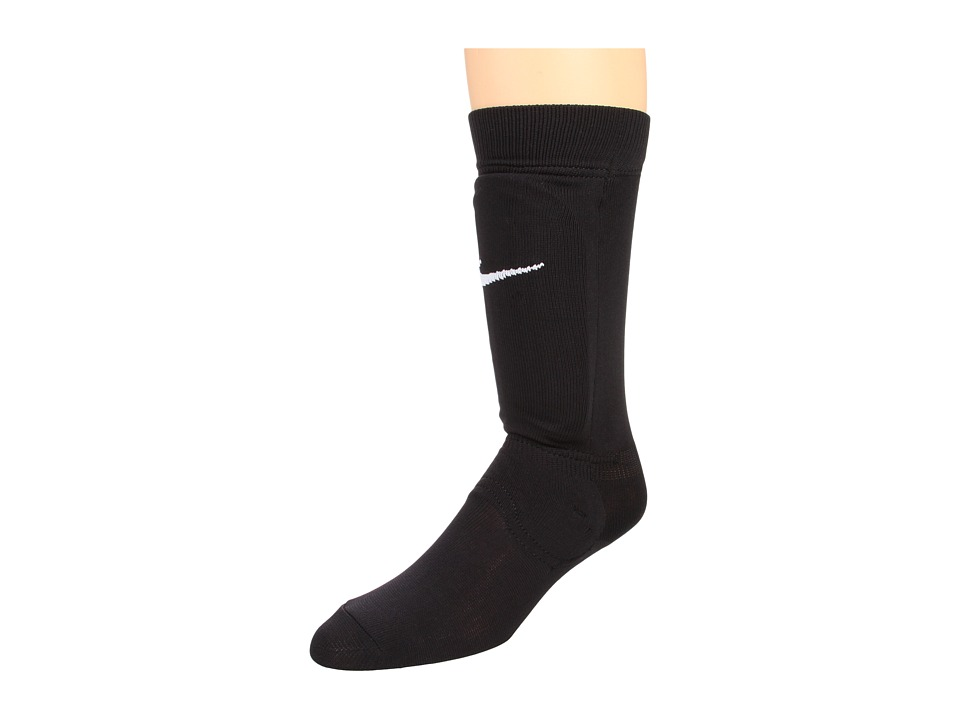 Nike - Shin Sock (Black/White) Athletic Sports Equipment