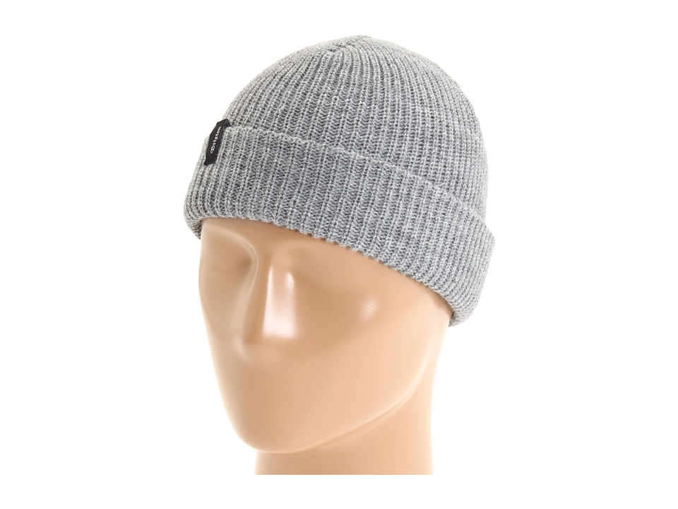 Brixton - Heist Beanie (Light Heather Grey) Beanies
