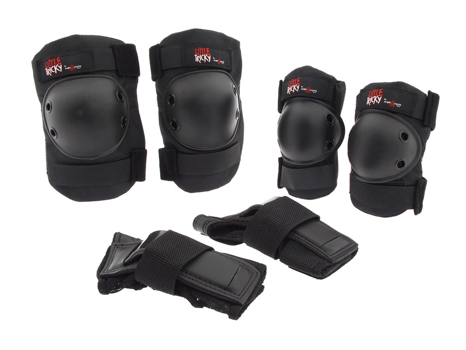 Triple Eight Little Tricky Youth Protective Pack w/ Instructional DVD No Color Athletic Sports Equipment