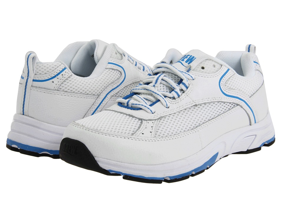 Drew Athena White/Blue Combo Womens Shoes