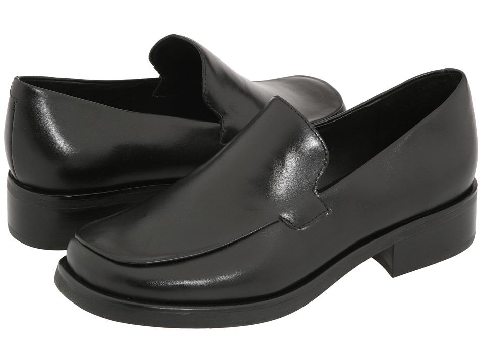 Franco Sarto Bocca Black Calf Womens Flat Shoes