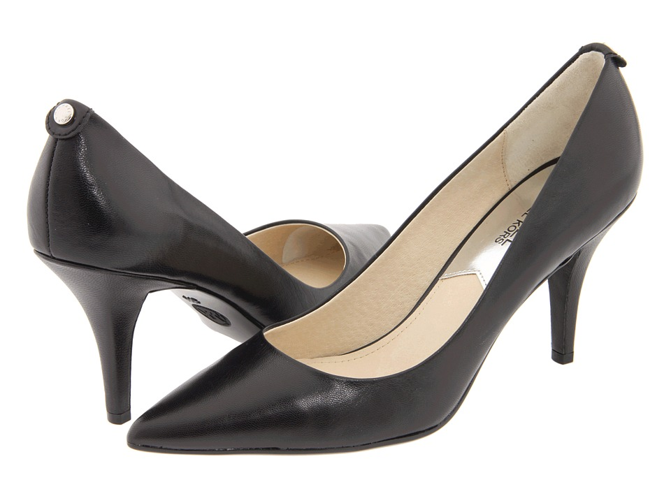 MICHAEL Michael Kors MK Flex Mid Pump (Black) High Heel Shoes