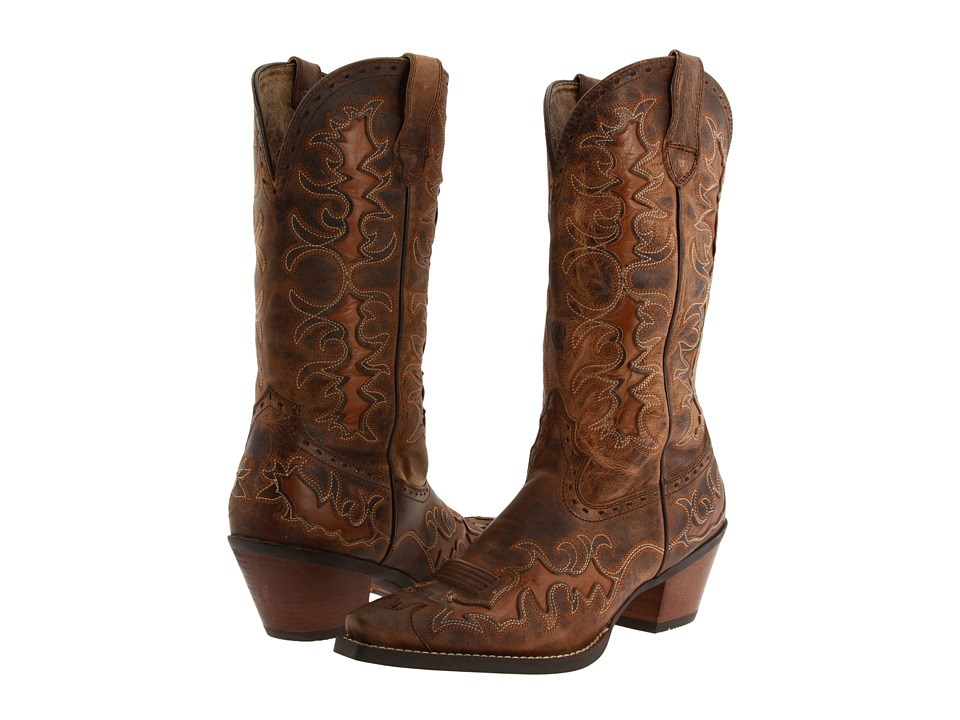 Ariat - Dandy (Sassy Brown/Sand Hill Brown) Cowboy Boots