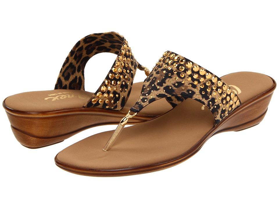 Onex Burst (Brown Leopard) Sandals