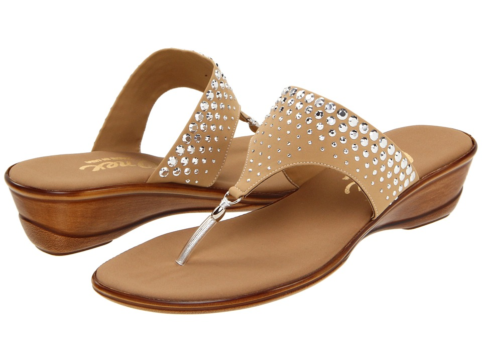 Onex Burst (Tan Elastic) Sandals