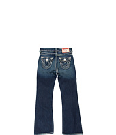 True Religion Kids - Boys' Billy Boot Cut Natural Super T in Dark Vintage (Toddler/Little Kids/Big Kids)