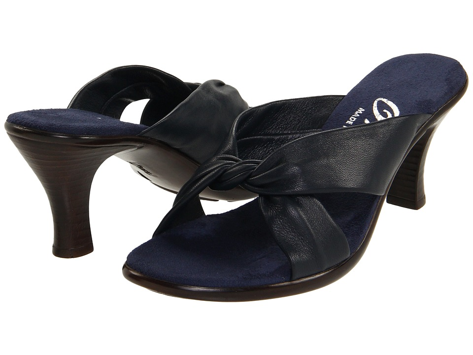 Onex Modest (Navy Leather) Sandals