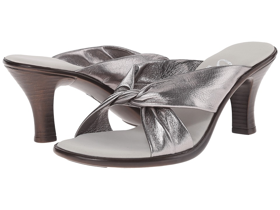 Onex Modest (Pewter Leather) Women's Dress Sandals