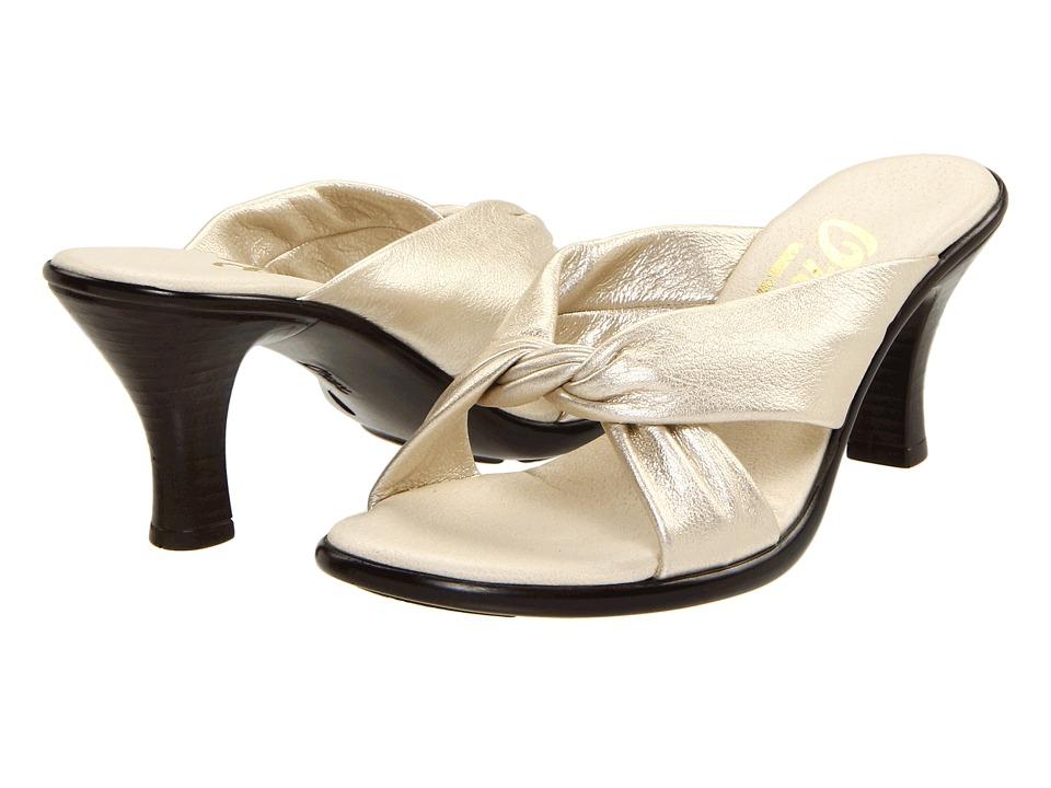 Onex Modest (Platinum Leather) Sandals