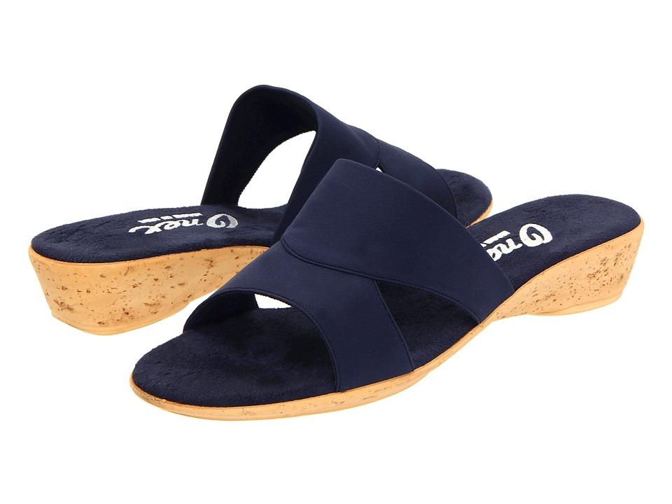 Onex Gilda (Navy Elastic) Sandals