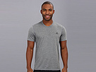 adidas - CLIMA Ultimate Tee (Dark Grey Heather/Black)