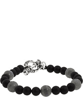 King Baby Studio - Onyx Bead Bracelet with Smokey Quartz