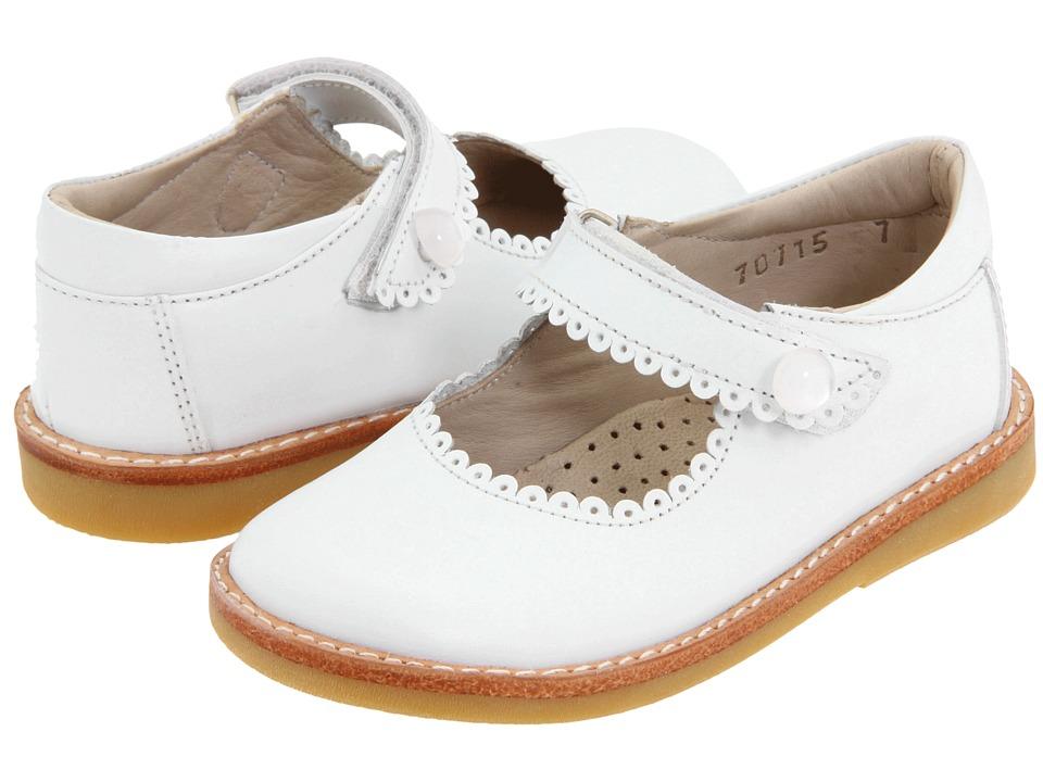 Elephantito Mary Jane ToddlerLittle Kid White Girls Shoes