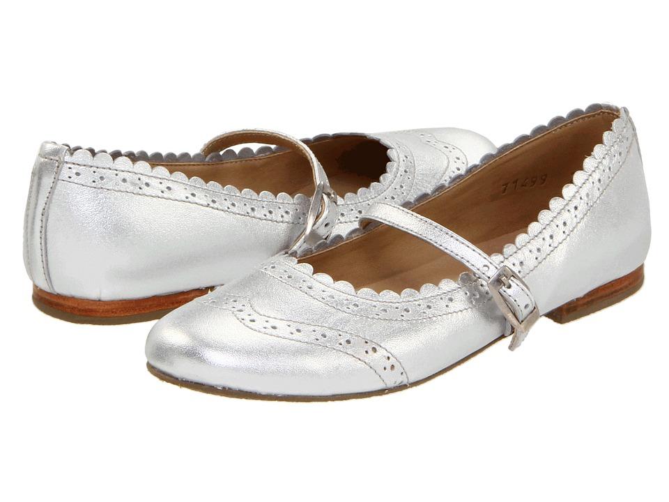 Elephantito Vicky Ballerina (Toddler/Little Kid/Big Kid) (Silver) Girl's Shoes