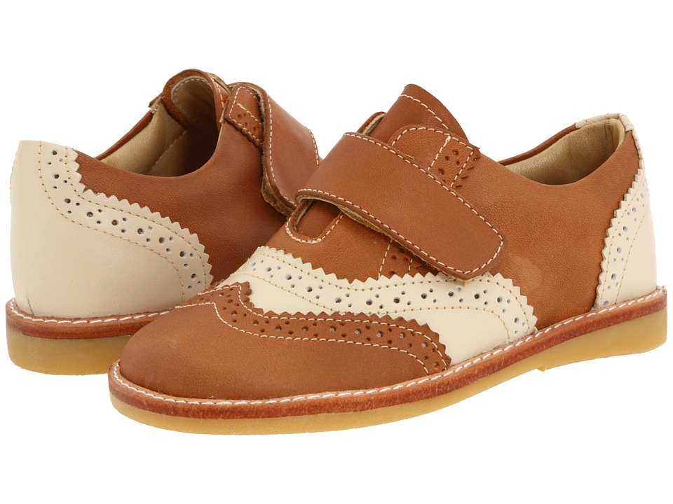 Elephantito Jamie Toddler Caramel/Ecru Boys Shoes