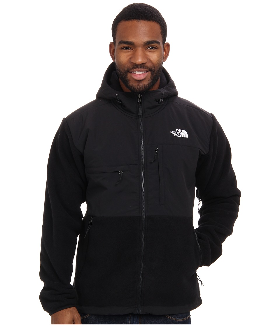 The North Face - Denali Hoodie (R TNF Black/TNF Black) Men