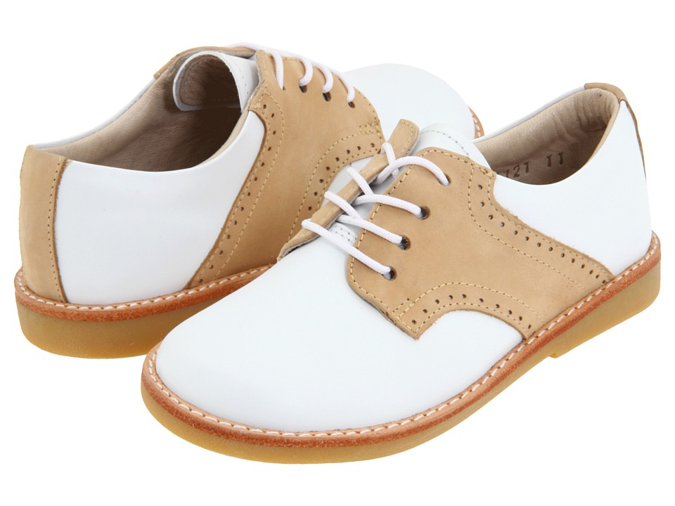 Elephantito Golfers Toddler/Little Kid/Big Kid White/Ivory Boys Shoes