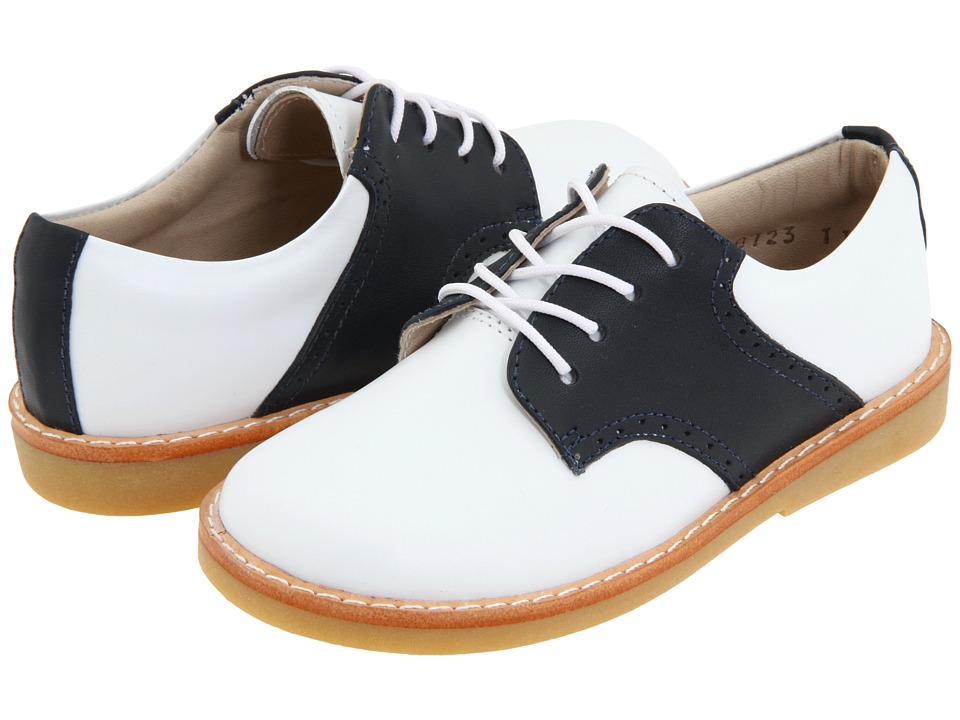 Elephantito Golfers Toddler/Little Kid/Big Kid White/Navy Boys Shoes