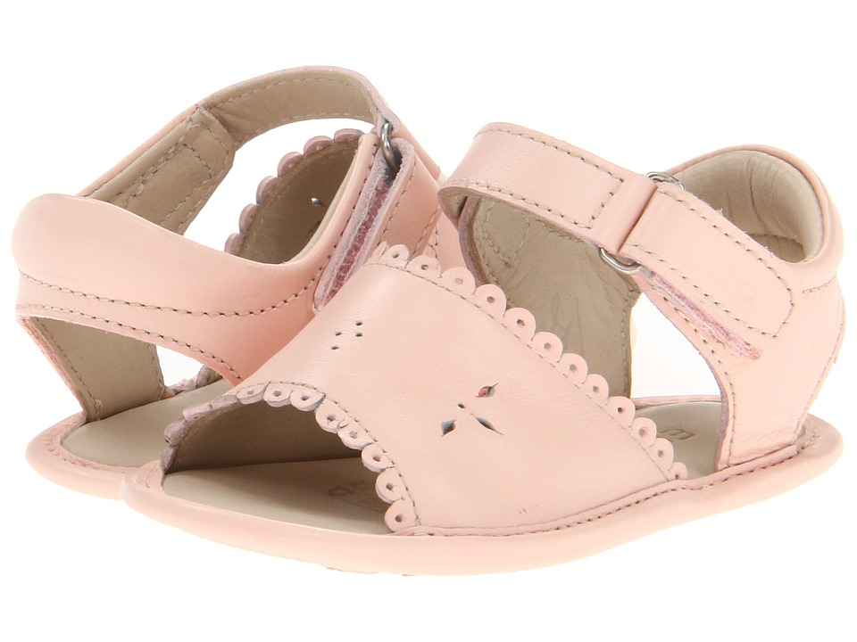 Elephantito - Sandal W/ Scallop (Infant/Toddler) (Pink) Girls Shoes