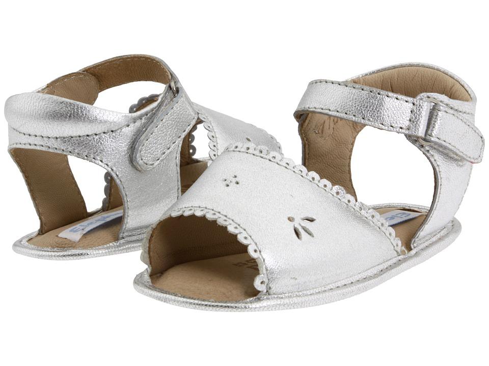 Elephantito Sandal W/ Scallop Infant/Toddler Silver Girls Shoes