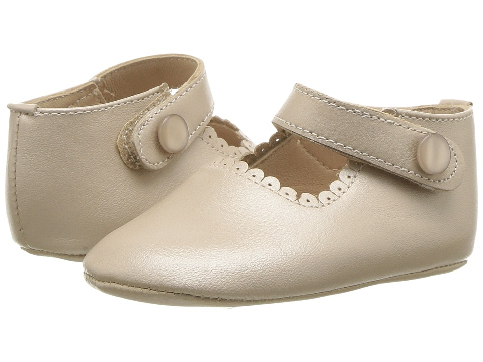 Elephantito Mary Jane Baby Infant Champagne Girls Shoes
