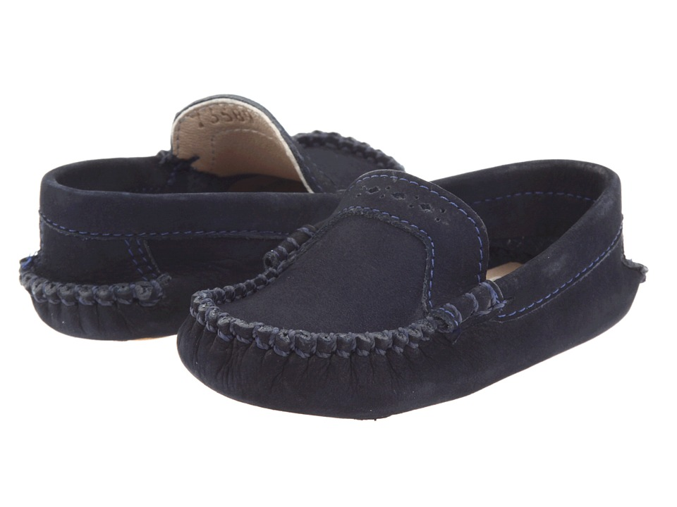 Elephantito Moccasin Infant Navy Boys Shoes