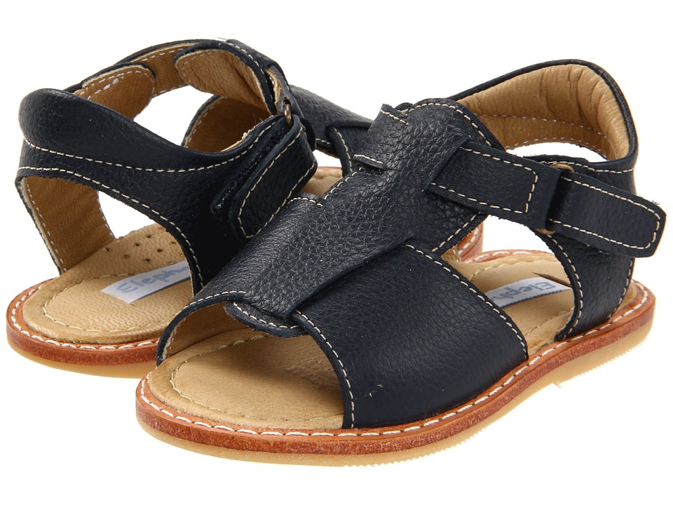 Elephantito Boy Sandal (Infant/Toddler) (Navy) Boy's Shoes